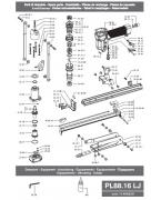 PL80.16 LJ Alttan Kıvırmalı Zımba Tabancası